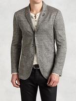 John Varvatos Linen Cotton Hook & Bar Jacket