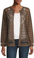 Berek Crochet Topper Jacket, Plus Size