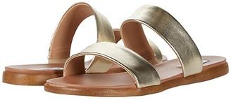 Steve Madden Dual Flat Sandal (Natural Raffia) Women's Sandals