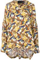 Michel Klein Dragonfly blouse