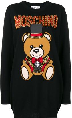 Moschino Bear Knitted Dress