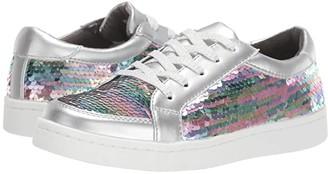 Kenneth Cole Reaction Luna Rosie (Little Kid/Big Kid) (Silver Rainbow) Girl's Shoes