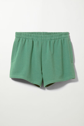 Weekday Kama Sweat Shorts - Black