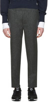 Aime Leon Dore SSENSE Exclusive Grey Wool Trousers