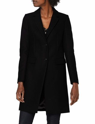 Tommy Hilfiger Women's TH ESS Wool Blend Classic Coat Jacket