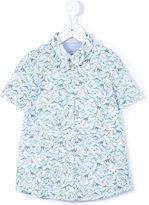 Paul Smith dinosaur print shirt - kids - Cotton - 6 yrs