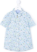 Paul Smith dinosaur print shirt - kids - Cotton - 8 yrs
