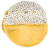 Judith Leiber Embellished Pill Box