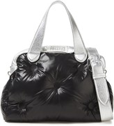 Maison Margiela Glam Slam Metallic Leather-trimmed Shell Shoulder Bag