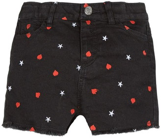 3 Pommes Kid Girl Charcoal Grey Short
