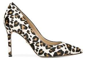 Sam Edelman Hazel Leopard-Print Calf Hair Leather Pumps