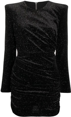 Alex Perry Raine glittered mini dress