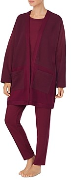 Donna Karan Quilted Bed Jacket