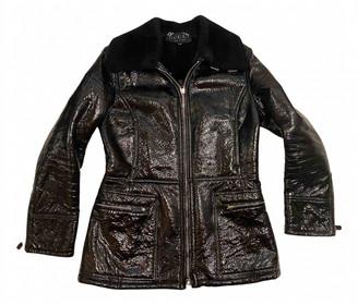 Gucci Black Shearling Jackets