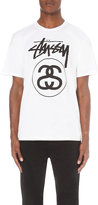Stussy Stock Link Cotton-jersey T-shirt