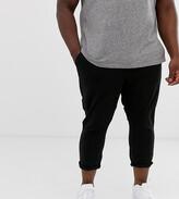 Asos Design DESIGN Plus skinny super cropped chinos in black
