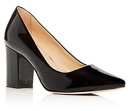 Joan Oloff Women's Riley Block-Heel Pumps