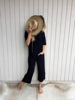 Tysa Playdate Jumpsuit in Black
