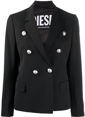 Diesel Long-Sleeved Double Buttoned Jacket