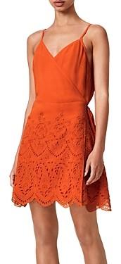 AllSaints Zariah Lace Skirt Dress