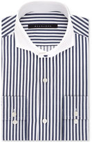 Sean John Classic/Regular Fit Men's Classic/Regular Fit Navy Stripe Dress Shirt