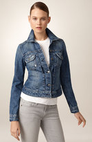 Stretch Denim Jean Jacket