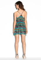 Milly Cabana Fly-Away V-Neck Dress