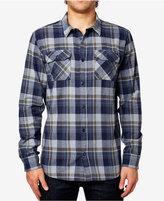 Fox Men's Trail Dust Plaid Long-Sleeve Flannel Shirt