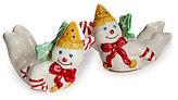 Noble Excellence Holiday Mr. Bingle Salt & Pepper Shaker Set
