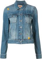 Paige flap pockets denim jacket