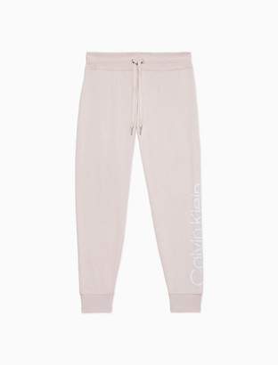 Calvin Klein Performance Heathered Logo Joggers