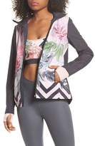 Ted Baker Palace Gardens Print Hooded Jacket