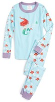 Hanna Andersson Disney Princess Cotton Two-Piece Fitted Pajamas (Toddler Girls, Little Girls, Big Girls)
