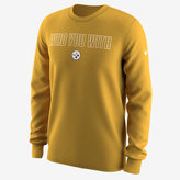 "Nike Who You With"" (NFL Steelers) Men's Long Sleeve T-Shirt"