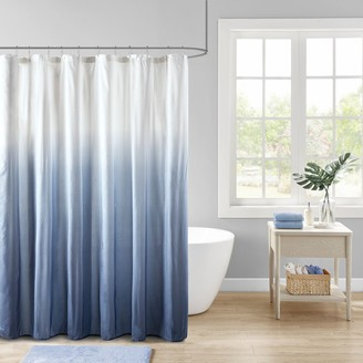 Madison Home USA Loire Ombre Printed Seersucker Shower Curtain