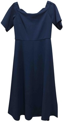 Tibi Black Cotton - elasthane Dresses