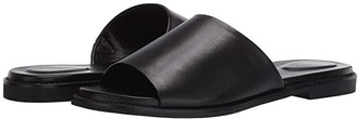 Hush Puppies Lexi Slide (Black Leather) Women's Shoes