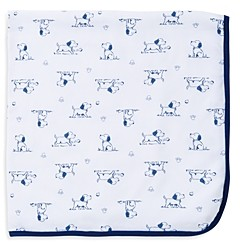 Little Me Infant Boys' Puppy Print Receiving Blanket - Baby