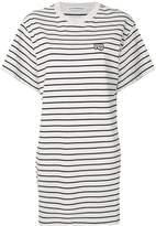 Alexander Wang Striped T-shirt dress