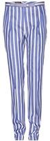 Loro Piana Fred Caribbean twill skinny trousers