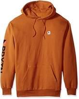 Brixton Men's Stowell Relaxed Standard Fit Hood Fleece Sweatshirt