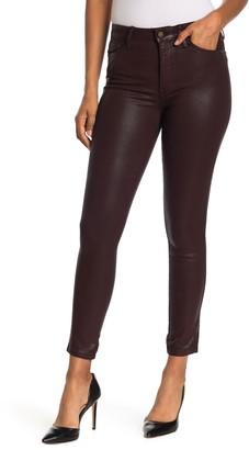 Sam Edelman Stiletto Ankle Faux Leather Skinny Jeans