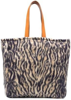 Forte Forte Leopard-Print Tote Bag