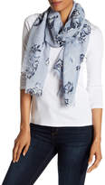 Joe Fresh Giant Floral Wrap Scarf