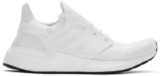 adidas White Ultraboost 20 Sneakers