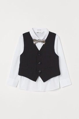 H&M Easy-iron Shirt with Vest