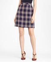 Brooks Brothers Plaid A-Line Skirt
