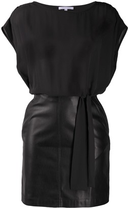 Patrizia Pepe All-In-One Skirt Blouse Dress
