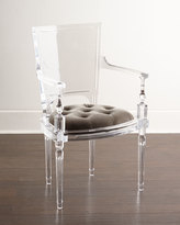 Global Views Katherine Acrylic Arm Chair