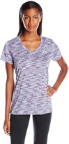 Under Armour Women's Tech Short Sleeve D Space Dye T-Shirt